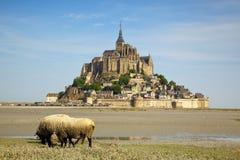 Das Mont Saint Michel Stockfotografie
