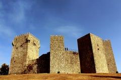Das Montalegre-Schloss stockbilder
