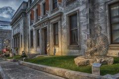 Das Montreal-Museum von schönen Künsten MMFA stockfoto