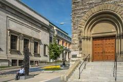 Das Montreal-Museum von schönen Künsten MMFA lizenzfreie stockbilder