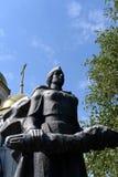Das Monument an den Massengräbern von 62 Soldaten des Armeehistorischen Erinnerungskomplexes zu den Helden von Stalingrad-Kampf Lizenzfreie Stockbilder