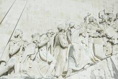 Das Monument der Entdecker stockbild