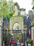 Das Monument in Paris cementary Stockbilder