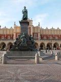 Das Monument von Adam Mickiewicz Lizenzfreies Stockfoto