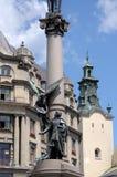 Das Monument zu Adam Mickiewicz Lizenzfreie Stockfotos