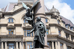 Das Monument zu Adam Mickiewicz Lizenzfreies Stockbild