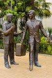 Das Monument zu den Helden der Komödie Lizenzfreies Stockbild