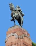 Das Monument zu General San Martin Lizenzfreie Stockfotos