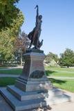 Das Monument zum Gedächtnis der toten Person Stockfoto