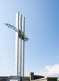 Das Monument zum Krieg Stockfoto