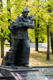 Das Monument zum Krieg Stockbilder