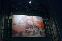 Das 6. Moskau Biennale der zeitgenössischer Kunst Stockfoto