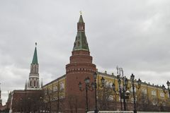 Das Moskau der Kreml, Russland lizenzfreie stockbilder