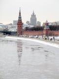 Das Moskau Kremlin Stockbilder