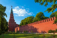 Das Moskau Kremlin Stockfotos