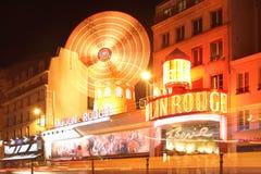 Das Moulin Rouge stockbilder