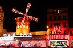 Das Moulin Rouge stockfotografie