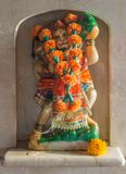 Das murti von Shri Hanuman Stärke und Hingabe darstellend lizenzfreies stockfoto