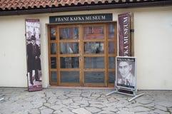 Franz Kafka-Museum in Prag Stockbild