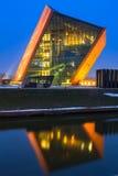 Das Museum des zweiten Weltkriegs in Gdansk, Polen Lizenzfreie Stockfotos