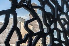 Das Museum von europäischen und Mittelmeerzivilisationen rief MU an Lizenzfreies Stockfoto