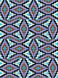 Das Muster auf dem Gewebe, handgemacht stockfotos