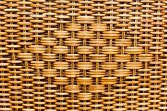 Das Muster des gesponnenen Korbes Lizenzfreie Stockbilder