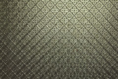 Das Muster des transparenten weißen Glases Stockfoto