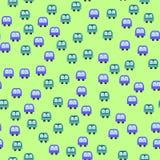 Das Muster von Autos Lizenzfreies Stockbild