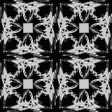 Das Muster von Monogrammen Lizenzfreie Stockbilder