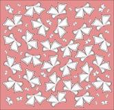 Das Muster von Schmetterlingen Lizenzfreies Stockfoto