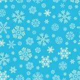 Das Muster von Schneeflocken Lizenzfreie Stockfotografie