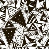 Das Muster von Schwarzweiss vektor abbildung