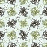 Das Muster von unterbrochenen Linien Stockfoto