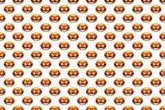 Das Muster zum Tag von Halloween-Kürbis, lizenzfreies stockfoto