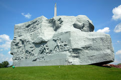 Das Mut-Denkmal in der Brest-Festung Stockfotografie
