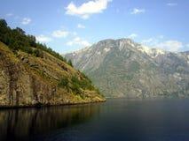 Das Nærøyfjord Lizenzfreies Stockbild