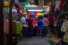 Das Nachtleben von China-Stadt Lizenzfreies Stockbild