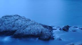 Das Nachtmeer Stockfoto