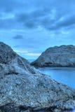 Das Nachtmeer Lizenzfreies Stockbild