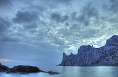 Das Nachtmeer Lizenzfreie Stockbilder