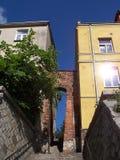 Das Nadel ` s Auge, Sandomierz, Polen Lizenzfreies Stockfoto