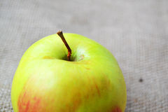 Das nahe Foto des Apfels lizenzfreie stockfotografie