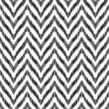 Das nahtlose Muster ikat Zickzacks stock abbildung