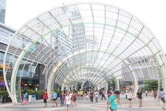 Das Nanshan-Bezirksmittequadrat in SHENZHEN CHINA ASIEN Stockfotos