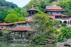 Das nanyuan: Land des Rückzugs und des Wellness stockbilder