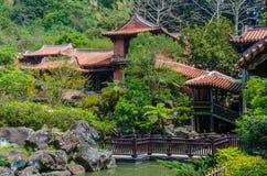 Das nanyuan: Land des Rückzugs und des Wellness Stockbild