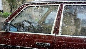 Das nasse Bild von MERCEDES-BENZ lizenzfreies stockbild