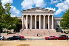 Das National Gallery der Kunst am nationalen Mall in Washington D C Lizenzfreie Stockbilder