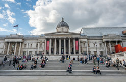 Das National Gallery in London Lizenzfreie Stockbilder